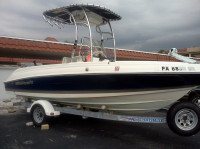 2005 Wellcraft 180 with SG600 T-Top