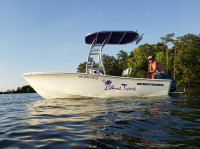 2016 Sportsman 17 Island Reef with SG300 T-Top