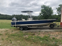 2009 Clearwater Baystar 2400 with SG600 T-Top
