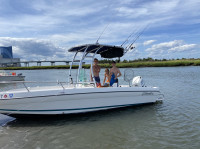 1997 Seaswirl Striper 1850  with SG300 T-Top