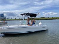 1997 Seaswirl Striper 1850 boat t-top