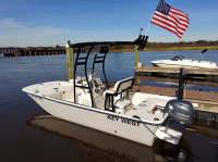 2010 Key West 177 Skiff with SG300 T-Top