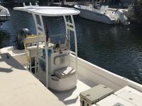 2017 Carolina Skiff JVX 20 with boat t-top