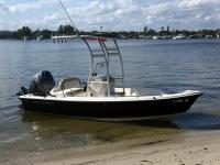 2016 Key West 1720 CC boat t-top