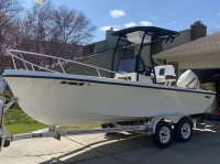 1986 Mako 20' with SG600 T-Top