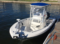 2018 Tidewater 198 cc with SG900 T-Top