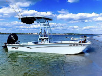 2020 Mako Pro Skiff 17 with SG300 T-Top