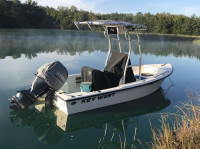2007 Key West 1720 Sportsman with SG600 T-Top