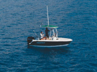 2010 Trophy 1703 Center Console with SG600 T-Top